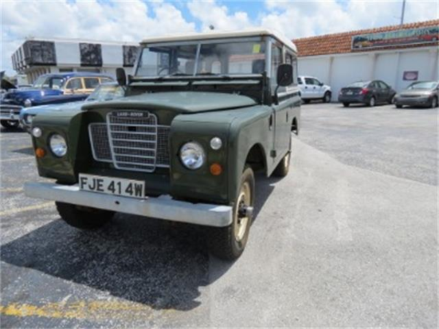 1980 Land Rover Series III | 721401
