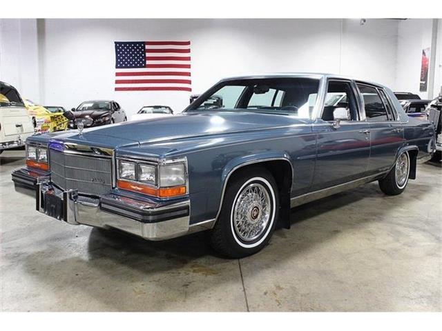 1986 Cadillac Fleetwood Brougham | 721726