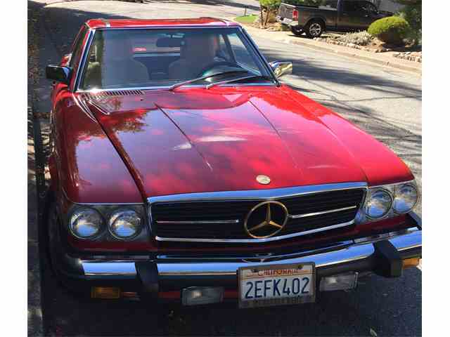 1987 Mercedes-Benz 560SL | 723528