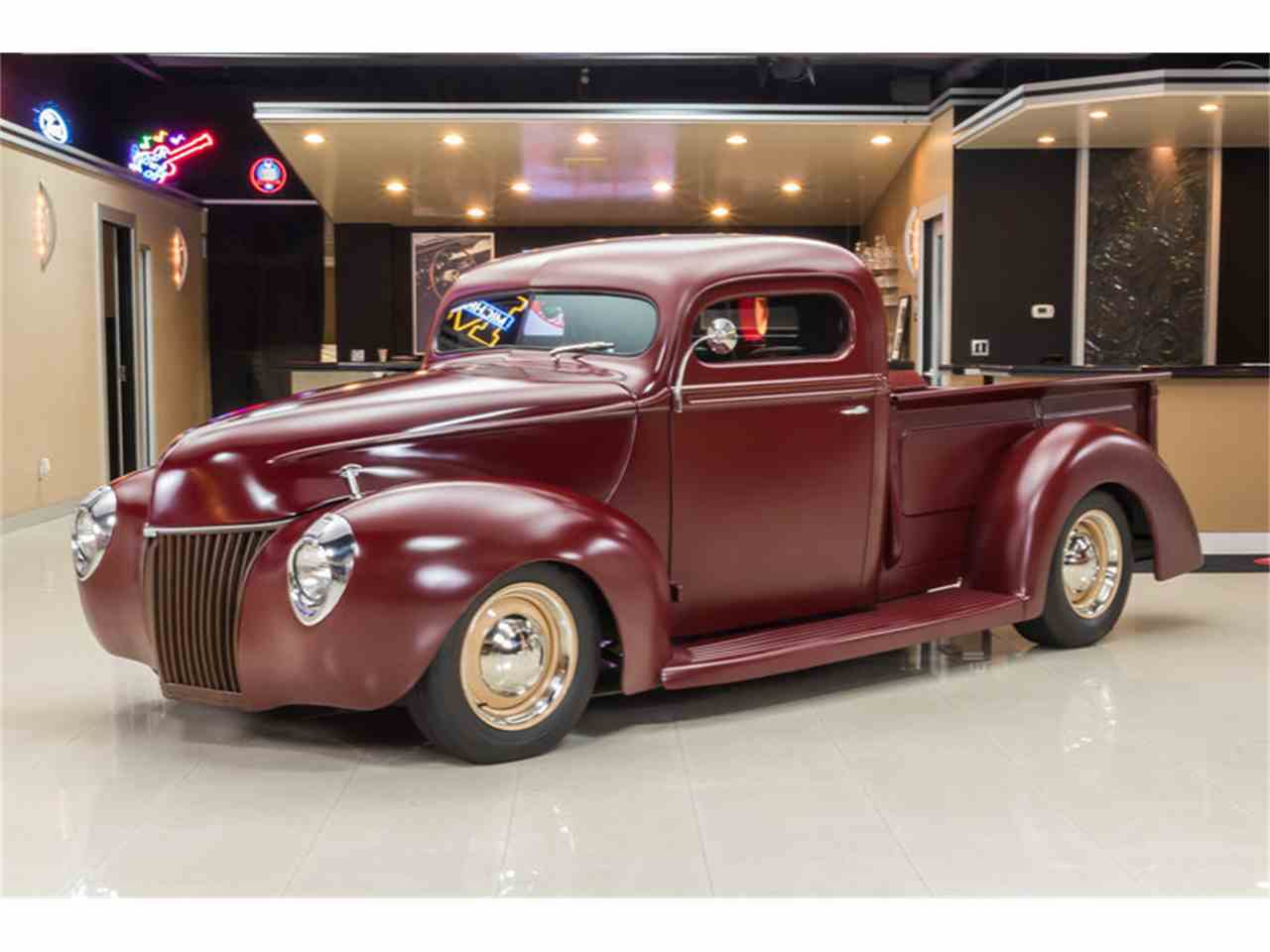 Large Picture of Classic 1940 Ford Pickup located in Michigan - $54,900.00 Offered by Vanguard Motor Sales - FILH