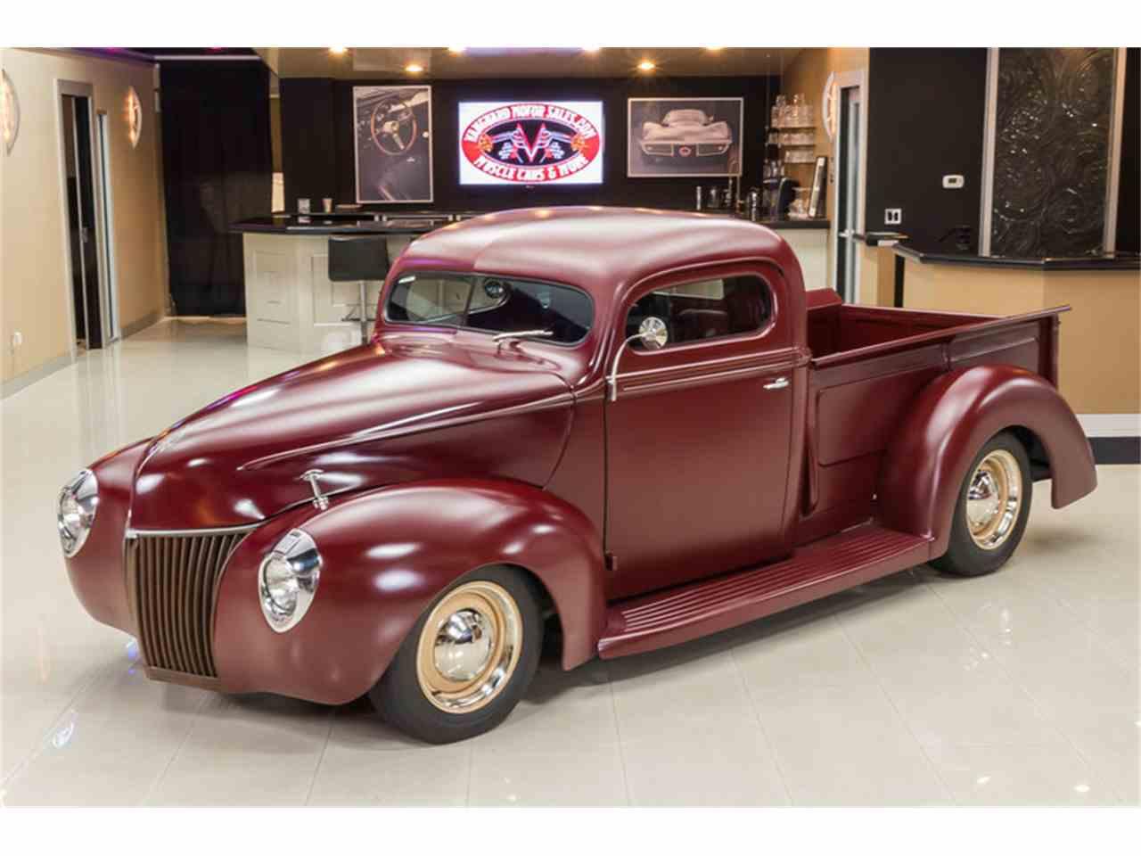 1940 ford pickup for sale cc 723941. Black Bedroom Furniture Sets. Home Design Ideas