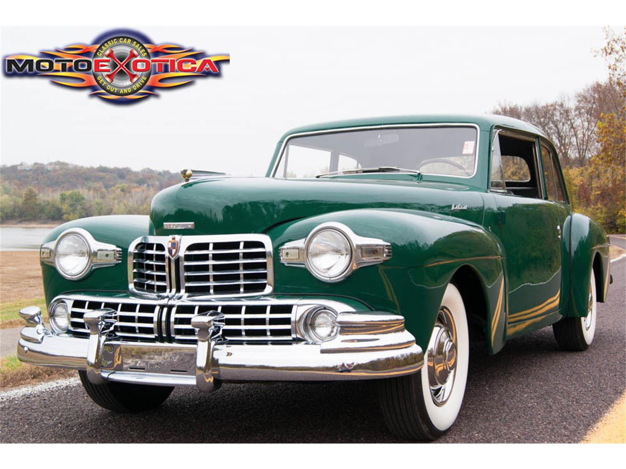 1948 Lincoln Continental For Sale Classiccars Com Cc