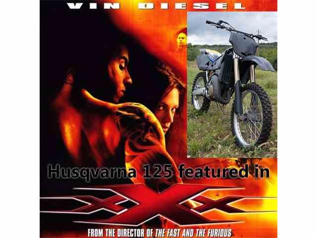 2001 Husqvarna CR125 | 725813