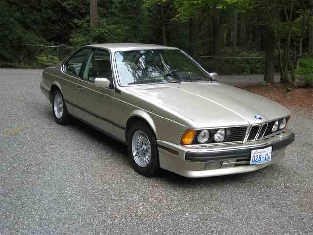 1989 BMW 635csi | 727334