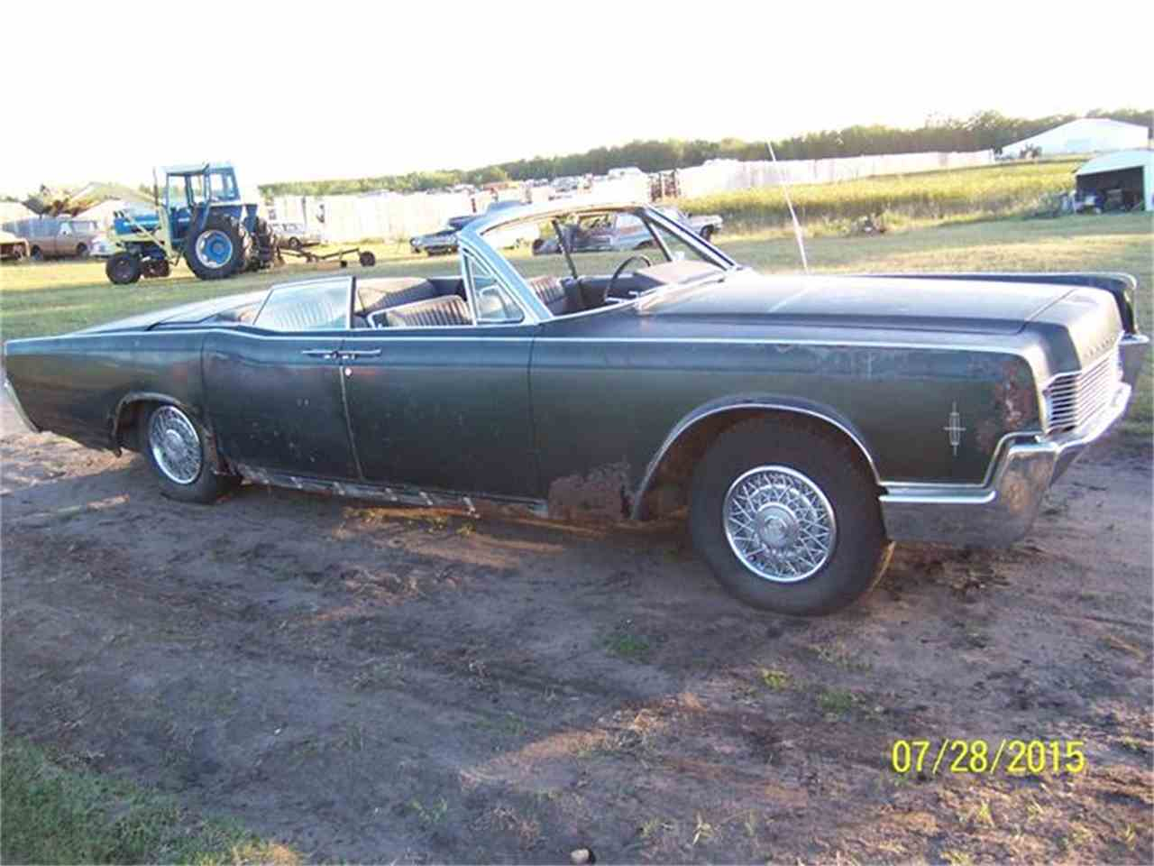 1966 lincoln convertible for sale cc 727540. Black Bedroom Furniture Sets. Home Design Ideas