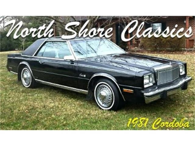 1981 Chrysler Cordoba | 728232