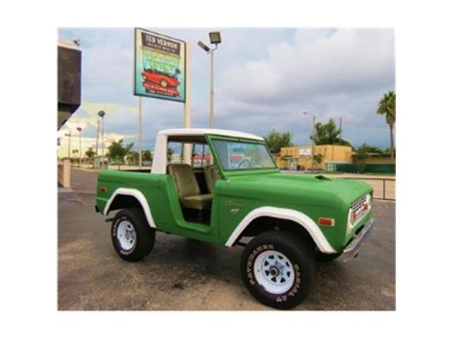 1971 Ford Bronco | 728292