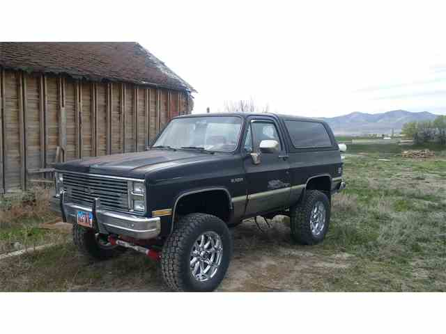 1985 to 1987 Chevrolet Blazer for Sale on ClassicCarscom  5
