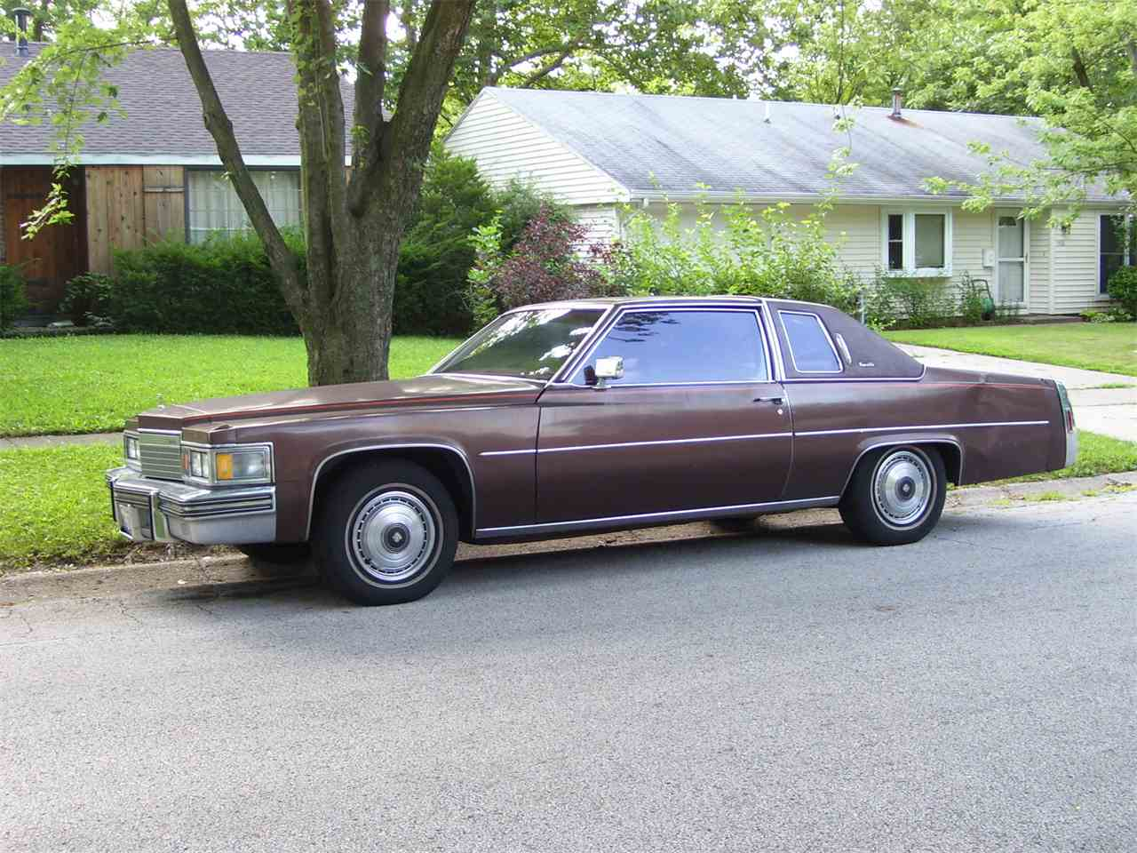 1979 cadillac coupe deville for sale cc 731898. Black Bedroom Furniture Sets. Home Design Ideas