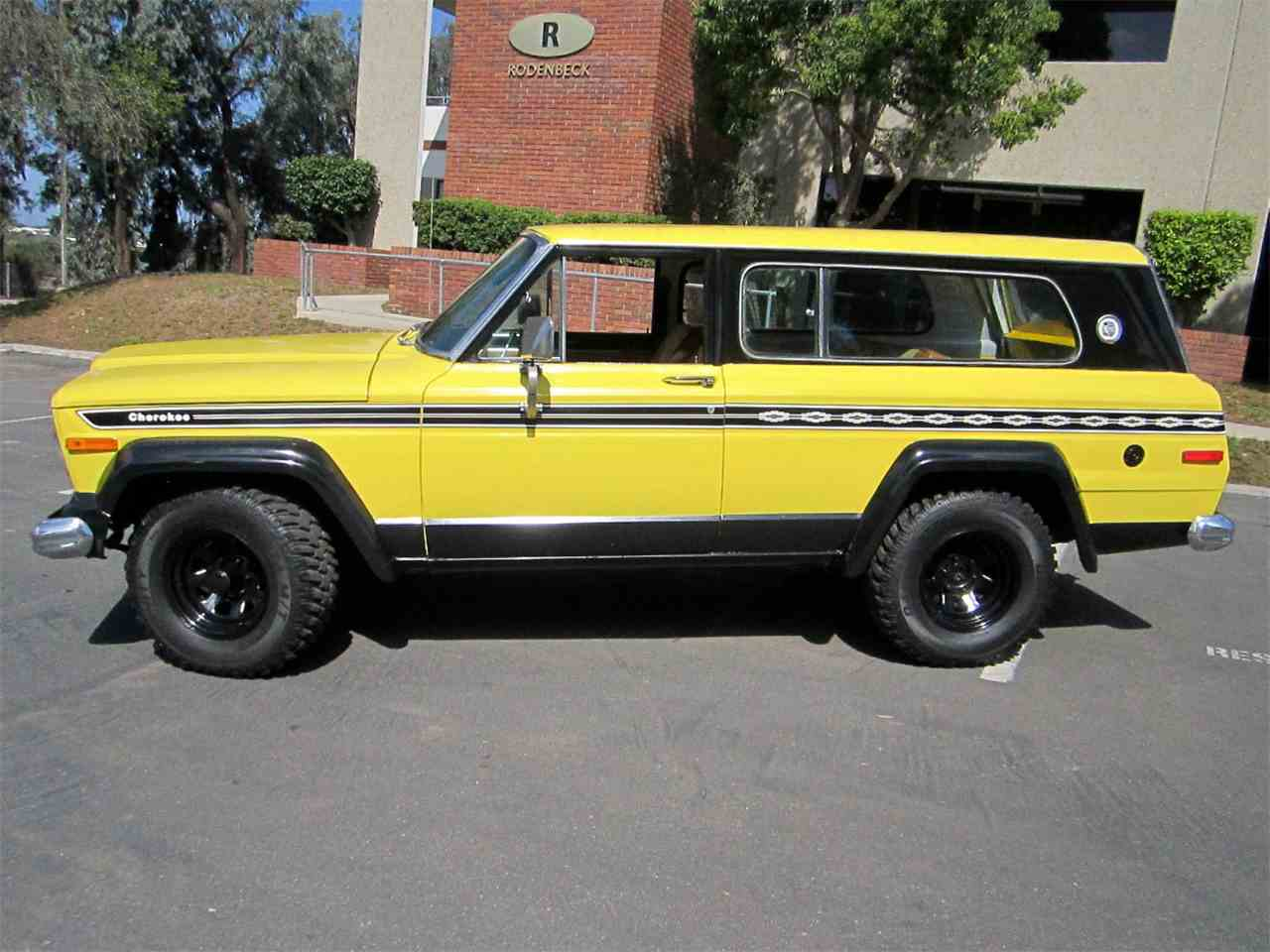 Jeep Dealer In San Diego >> 1977 Jeep Cherokee Chief for Sale | ClassicCars.com | CC-736277