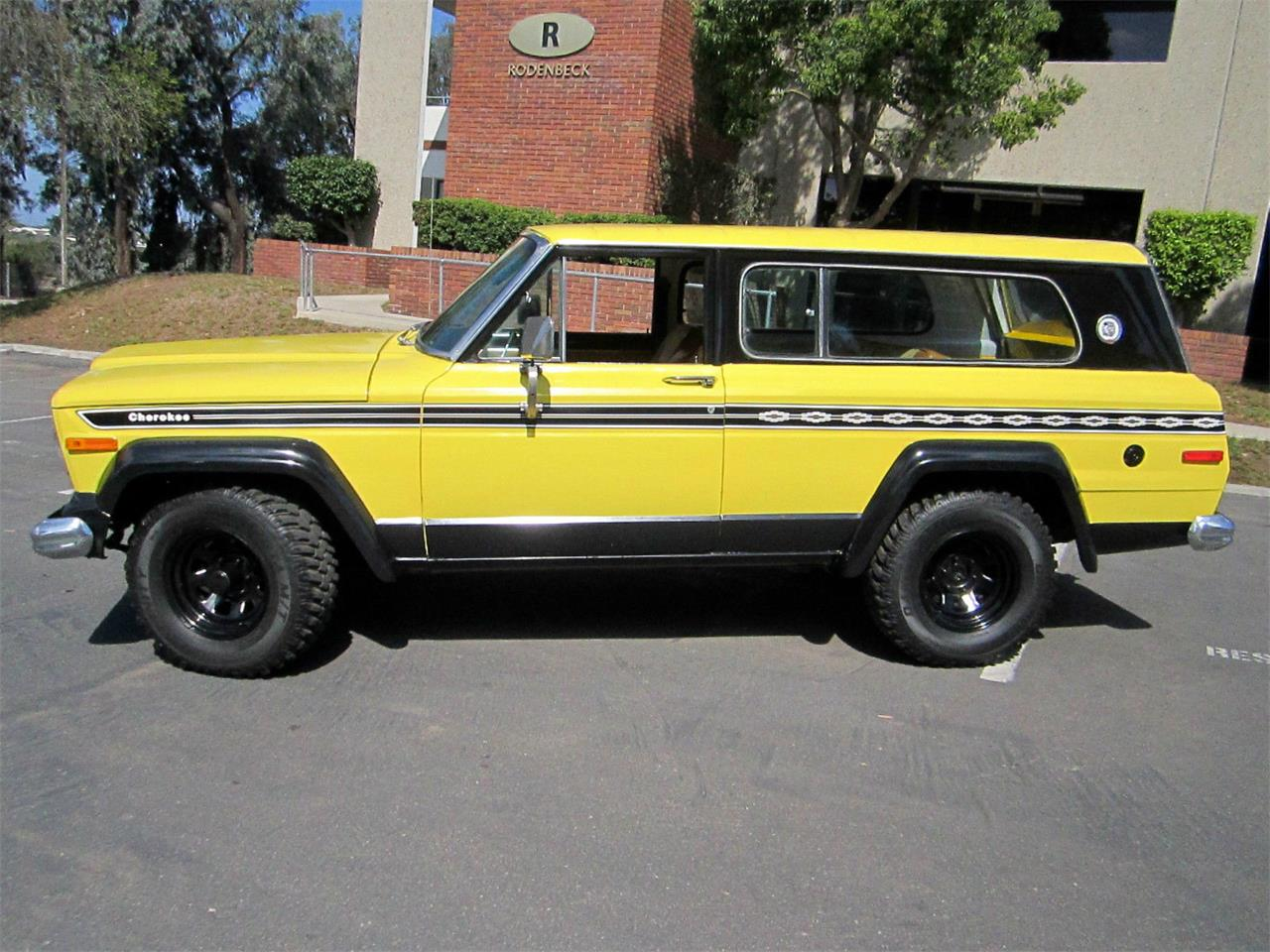 1977 jeep cherokee chief for sale cc 736277. Black Bedroom Furniture Sets. Home Design Ideas