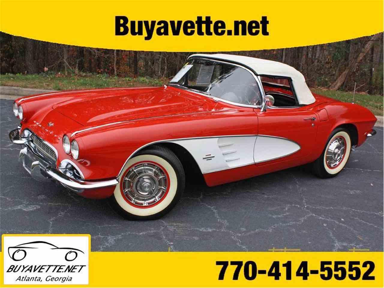 1961 chevrolet corvette for sale cc 736611. Black Bedroom Furniture Sets. Home Design Ideas