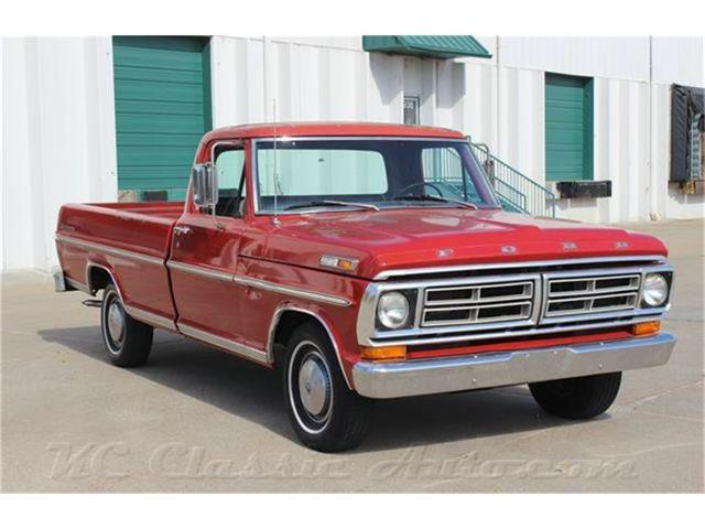 1972 Ford F100 Sport 360, Auto, Factory AC | 739336