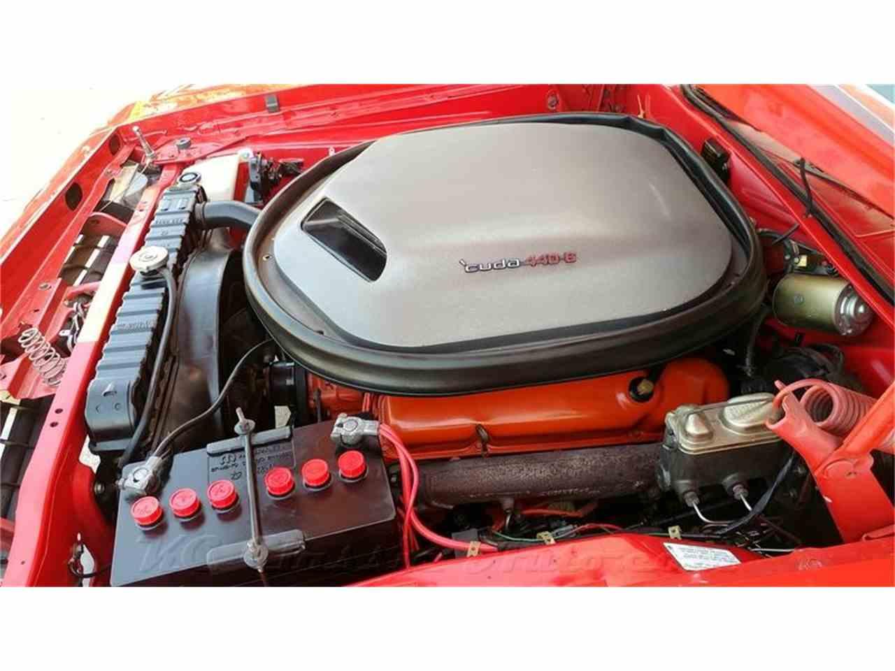 Large Picture of '70 Cuda 440-6 Pack V Code 4spd, Rotisserie Restored - FUHG