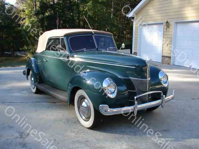 1940 Ford Convertible | 742557