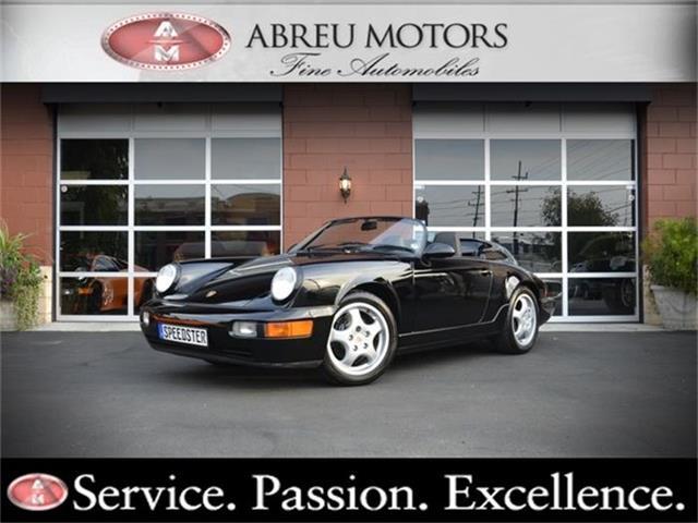 1994 Porsche 911 Speedster | 742672