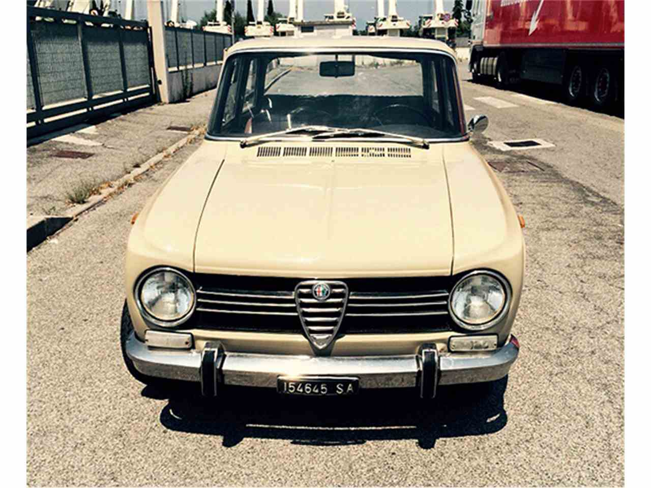 1969 alfa romeo giulia for sale cc 743082. Black Bedroom Furniture Sets. Home Design Ideas