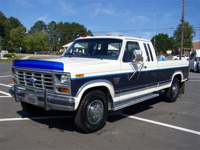 1986 Ford F250 XLT Lariat 6.9l | 743416