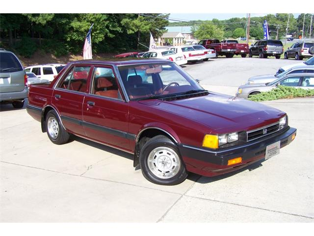 1984 Honda Accord 4dr LX Auto | 743427