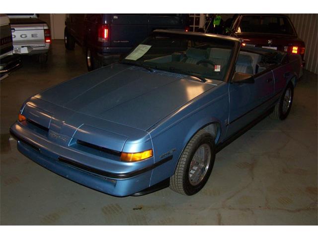 1987 Pontiac Sunbird SE Convertab | 743460