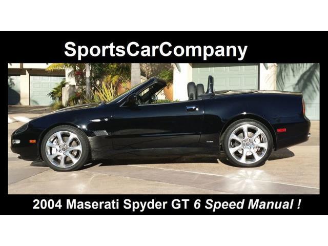 2004 Maserati Spyder | 740356