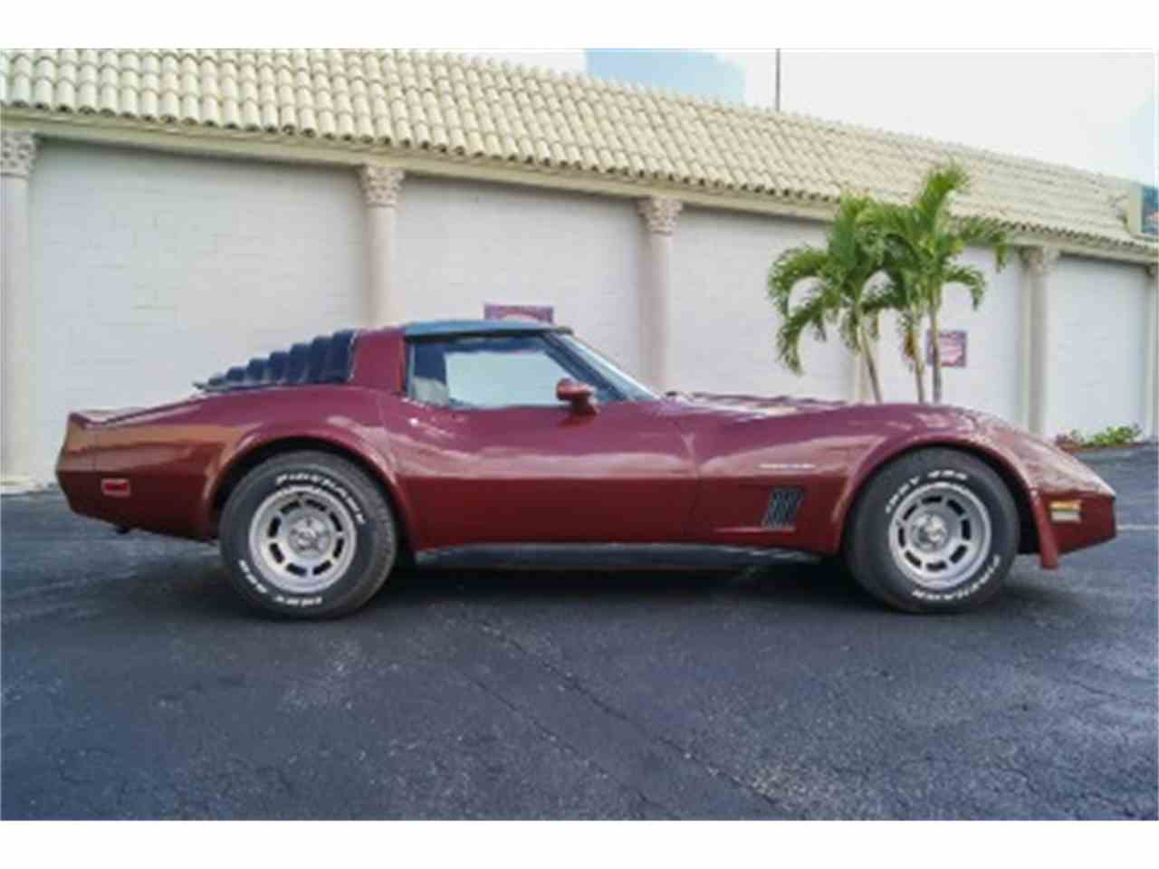 1982 chevrolet corvette for sale cc 744485. Black Bedroom Furniture Sets. Home Design Ideas
