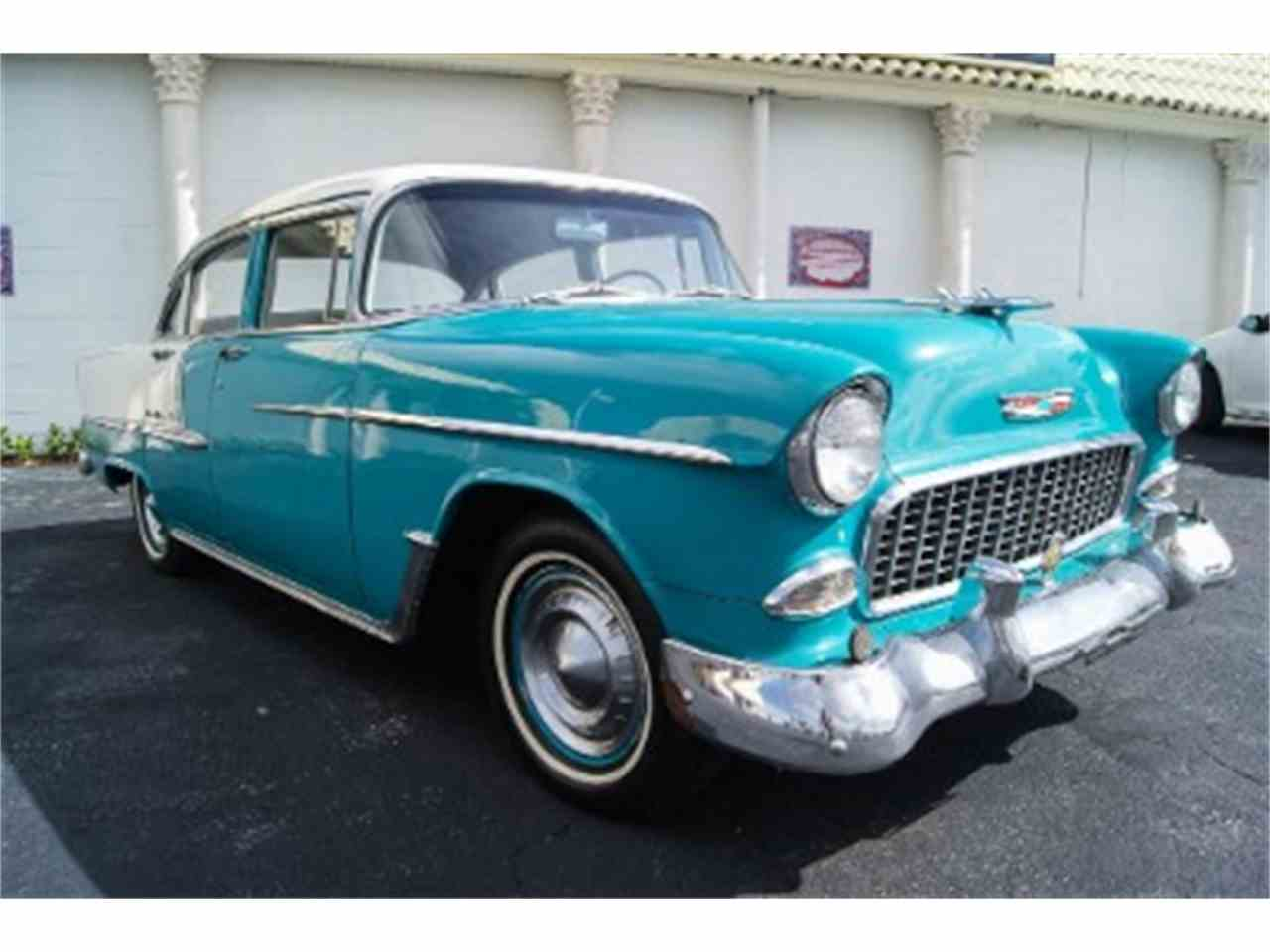 1955 chevrolet bel air for sale cc 745510. Black Bedroom Furniture Sets. Home Design Ideas