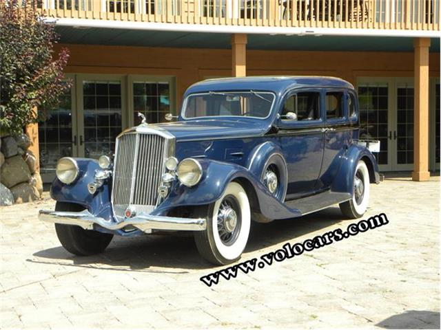 1934 Pierce-Arrow 1240A | 747594