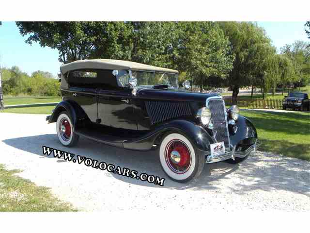 1934 Ford Model 40 | 747595