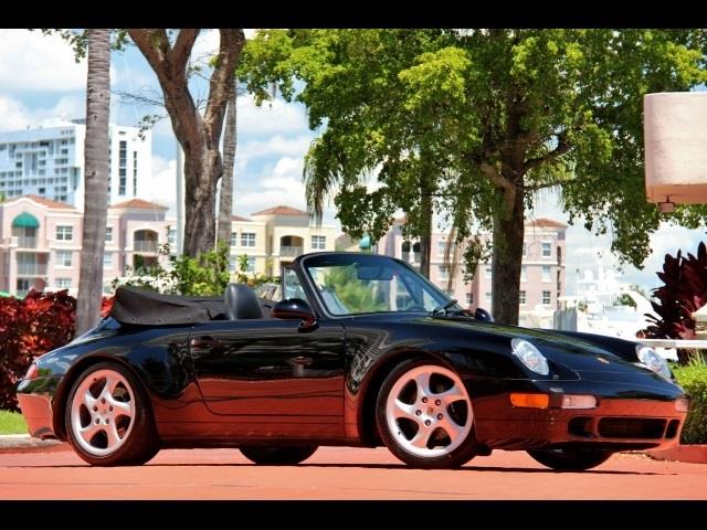 1996 Porsche 911Carrera Cabriolet Tiptronic | 747898
