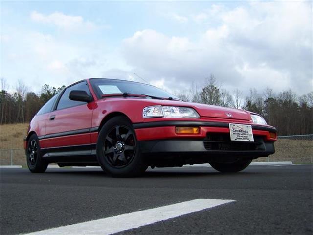 1989 Honda CRX   751977