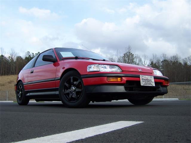 1989 Honda Civic CRX DX Coupe | 751977