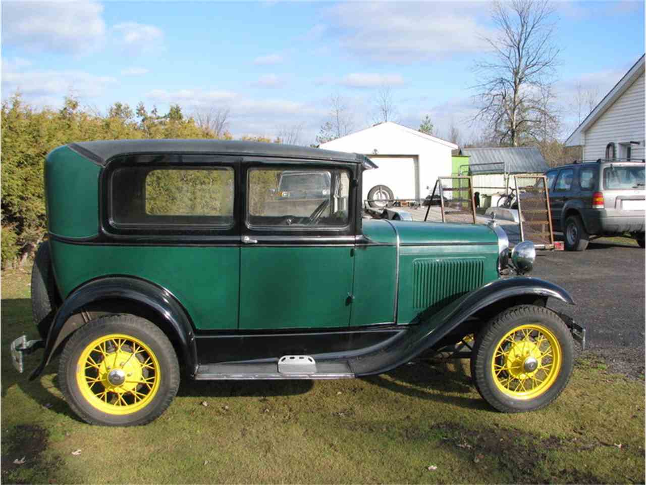 Large Picture of '31 Model A Tudor Sedan - G4B2