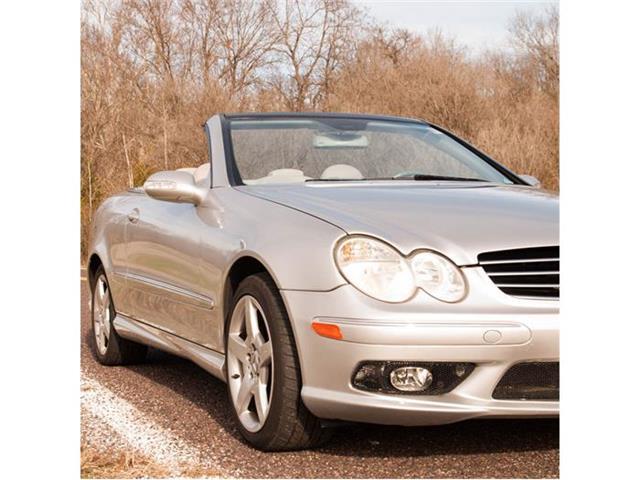 2005 Mercedes-Benz CLK500   752102