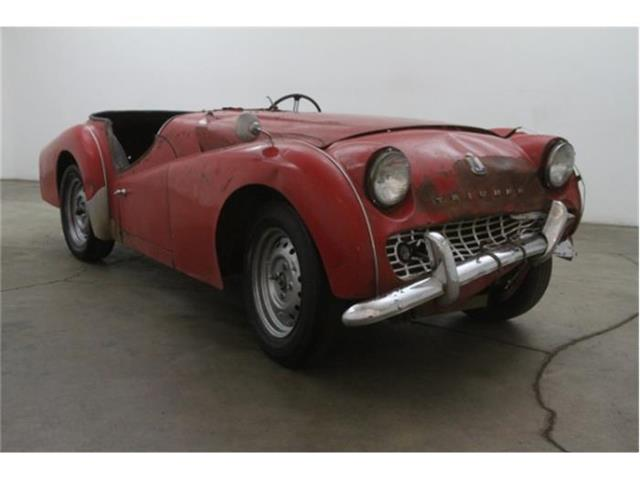 1960 Triumph TR3   752215