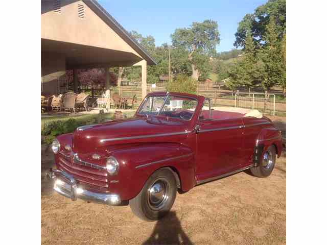 classifieds for 1946 to 1948 ford convertible 9 available. Black Bedroom Furniture Sets. Home Design Ideas