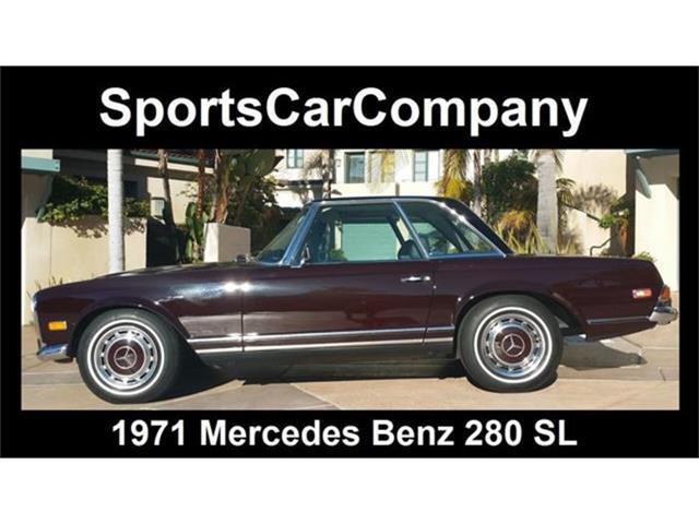 1971 Mercedes-Benz 280SL   753716