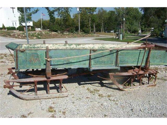 1910 Trailer Wagon Sled | 754064