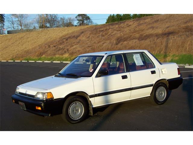 1987 Honda Civic 4dr Sedan 1.5 | 754207