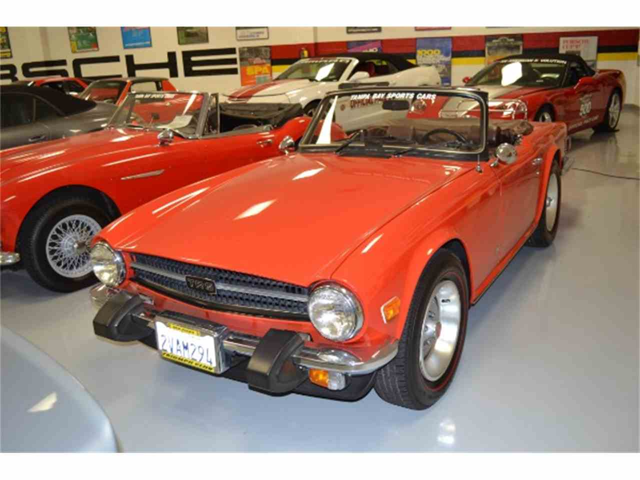 Classic Triumph TR6 for Sale on ClassicCarscom  70 Available