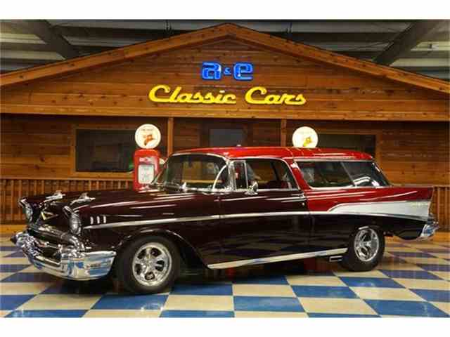 Picture of Classic '57 Chevrolet Bel Air Nomad located in Texas - G7FP