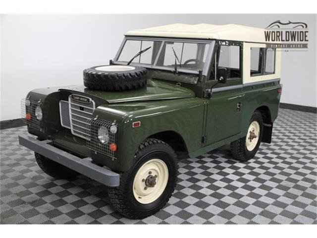 1972 Land Rover Series II | 756340