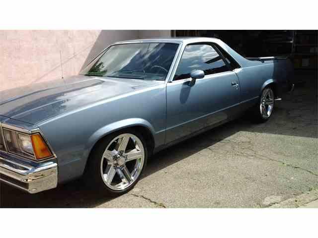 1980 Chevrolet El Camino   756574