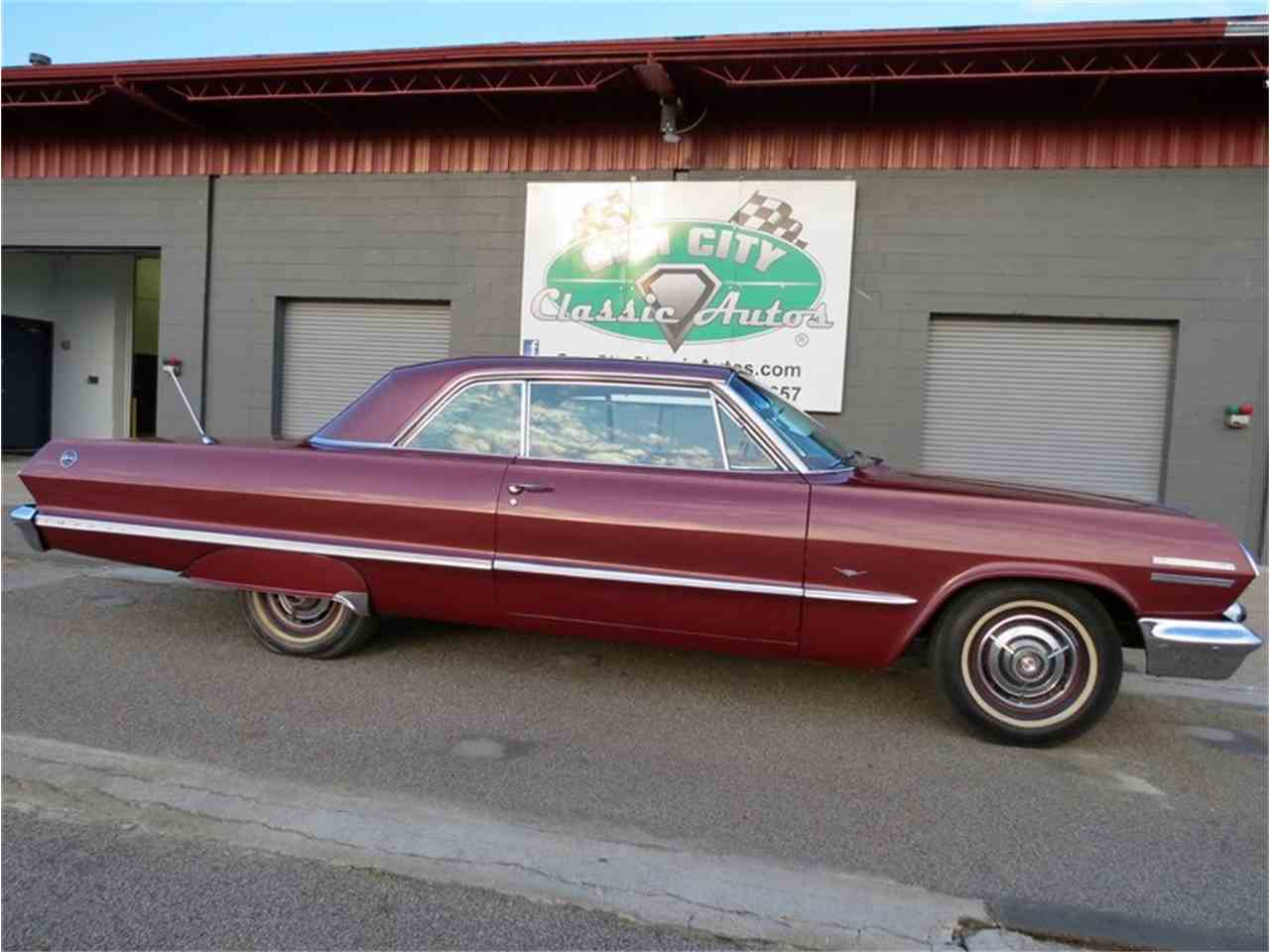 Large Picture of '63 Impala - G2RA