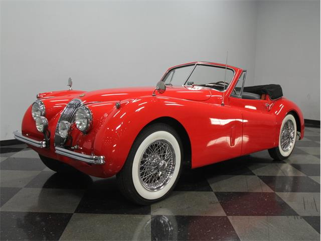 1954 Jaguar XK-120 SE Drop Head Coupe DHC | 758096