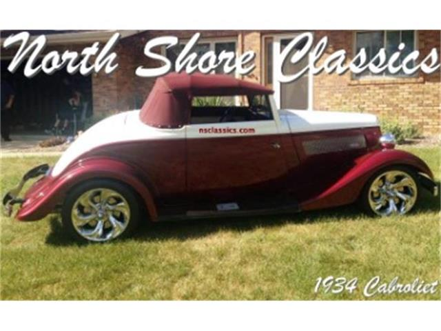 1934 Ford Cabriolet | 758887