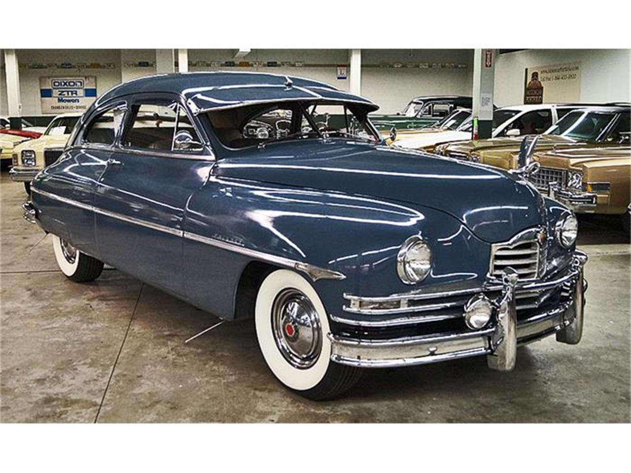 1950 packard deluxe eight for sale cc 759157. Black Bedroom Furniture Sets. Home Design Ideas