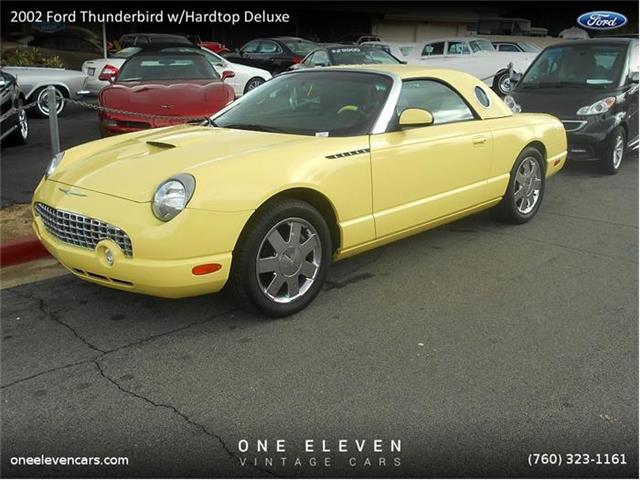 2002 Ford Thunderbird w/Hardtop Deluxe | 759769