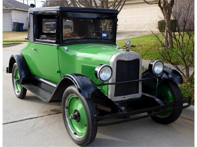 1926 CHEVROLET SUPERIOR LANDAU COUPE | 761351