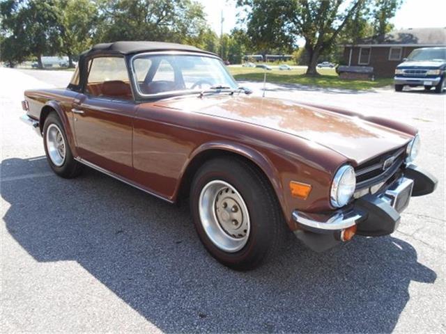 1976 Triumph TR6   761609